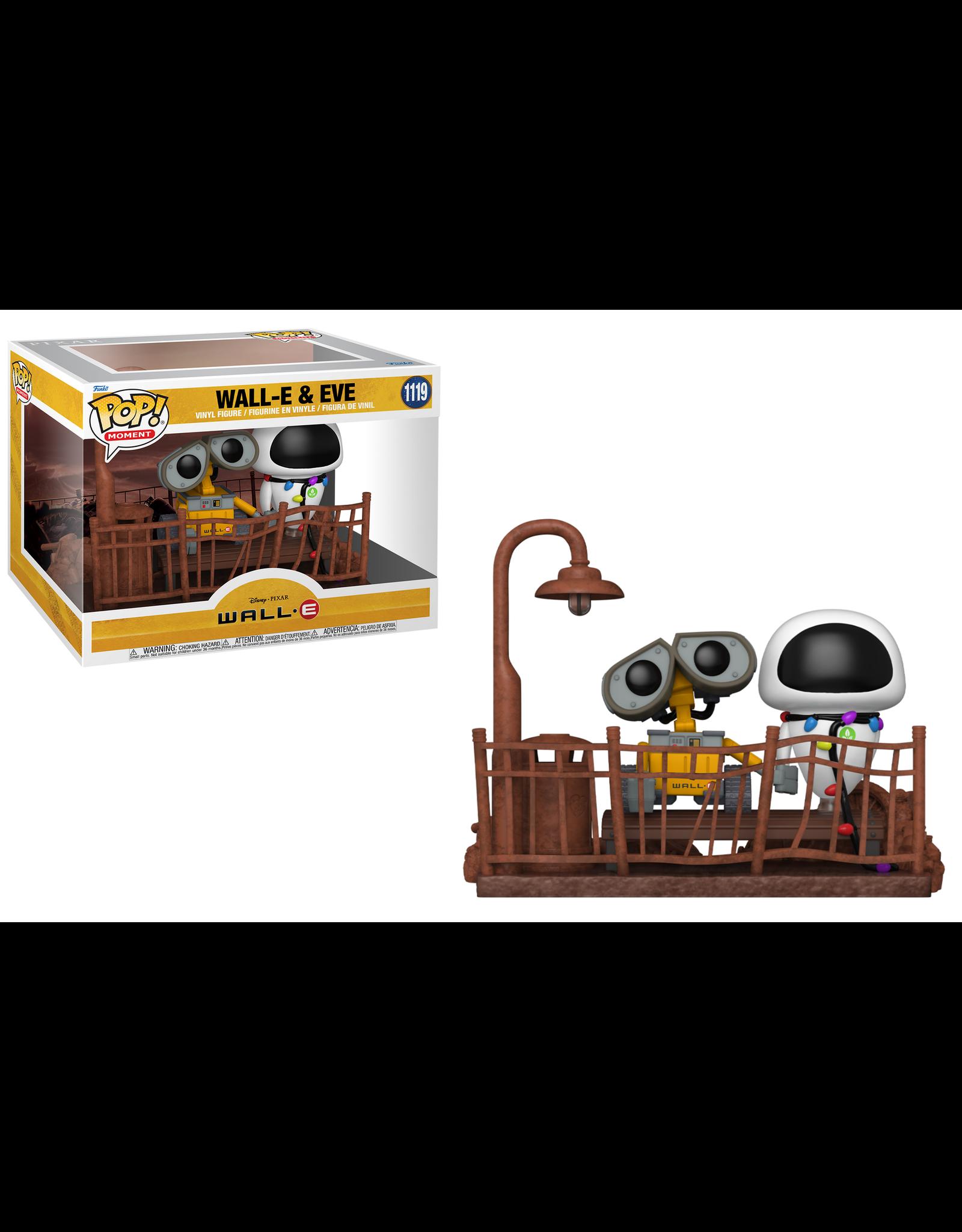 Funko WALL-E POP! Moment N°1119 - 2-Pack Wall-E & Eve