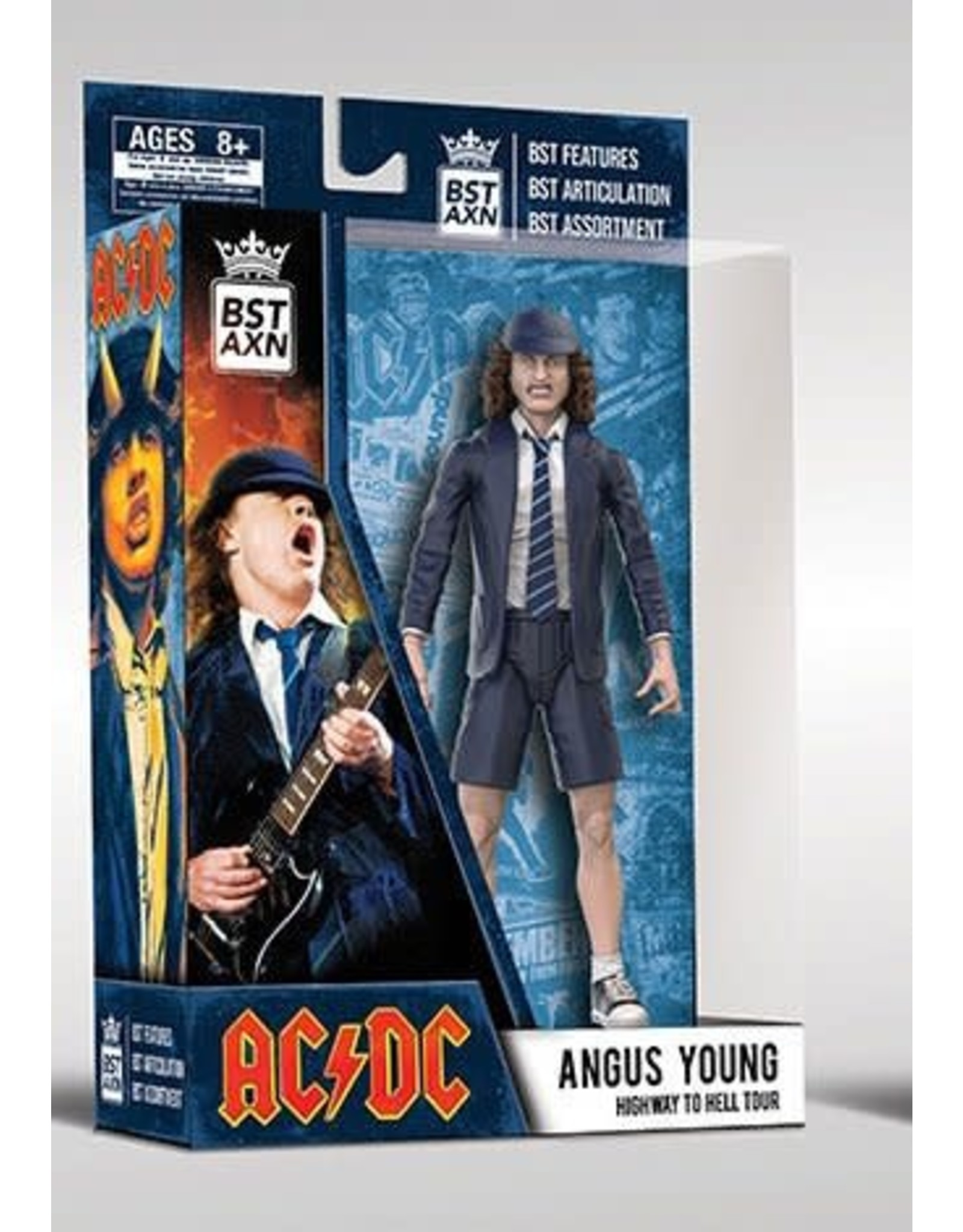The Loyal Subjects AC/DC BST AXN Action Figure 13 cm - Angus Young