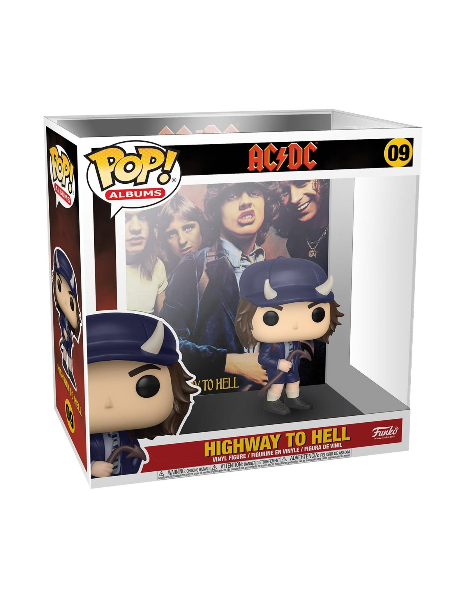 Funko AC/DC POP! Albums N°09 - Highway to Hell