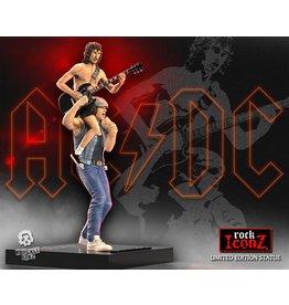 Knucklebonz AC/DC Rock Iconz Statue  - Angus & Brian