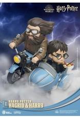 Beast Kingdom HARRY POTTER D-Stage Diorama 15cm -  Hagrid & Harry (Closed Box)