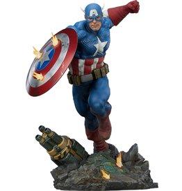 Sideshow Collectibles CAPTAIN AMERICA Premium Format Statue 53 cm - Captain America