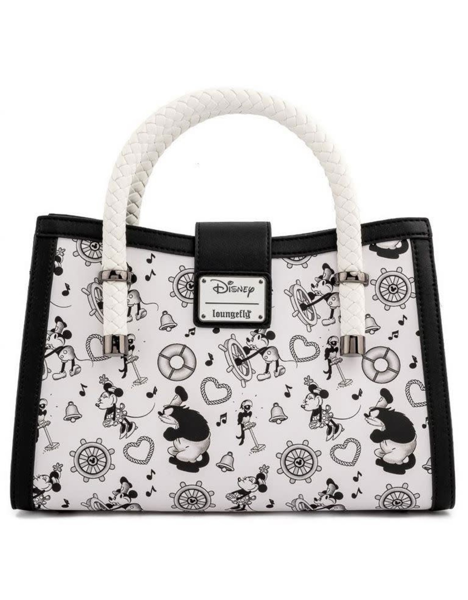 Loungefly MICKEY MOUSE Crossbody - Steamboat Willie Music Cruise