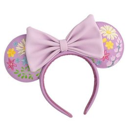 Loungefly MINNIE MOUSE Headband - Embroidered Flowers