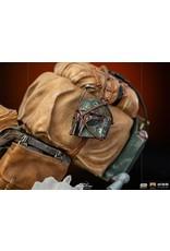 Iron Studios STAR WARS Art Scale Statue 1/10 - The Mandalorian on Speederbike Deluxe