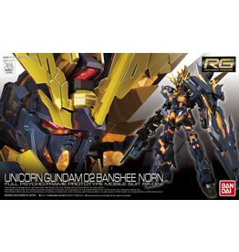 Bandai GUNDAM Model Kit RG - Unicorn  02 Banshee Norn