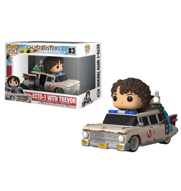 Funko GHOSTBUSTERS Afterlife POP! Rides N° 83 - Ecto 1 with Scissor Seat