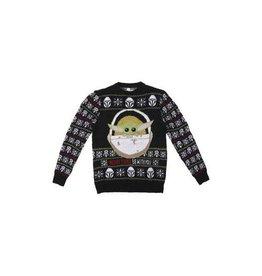 Cerda STAR WARS Christmas Sweater - The Mandalorian: Grogu (M)