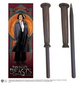 Noble Collection FANTASTIC BEASTS Pen + Bookmark - Porpentina Goldstein