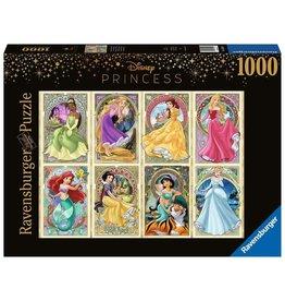 Ravensburger DISNEY PRINCESS Puzzle 1000P - Art Nouveau Princesses