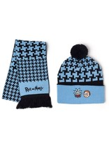 Difuzed RICK AND MORTY Beanie & Scarf Gifset