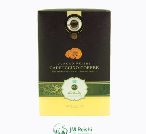 Healthy and delicous reishi Cappuccino