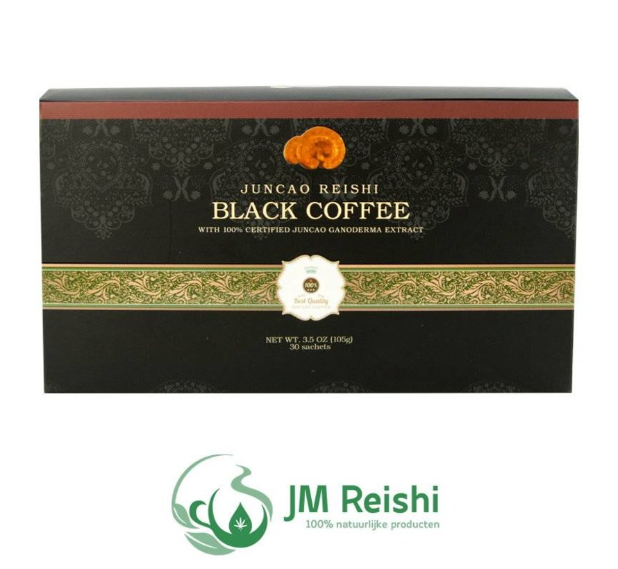 Ganoderma black coffee