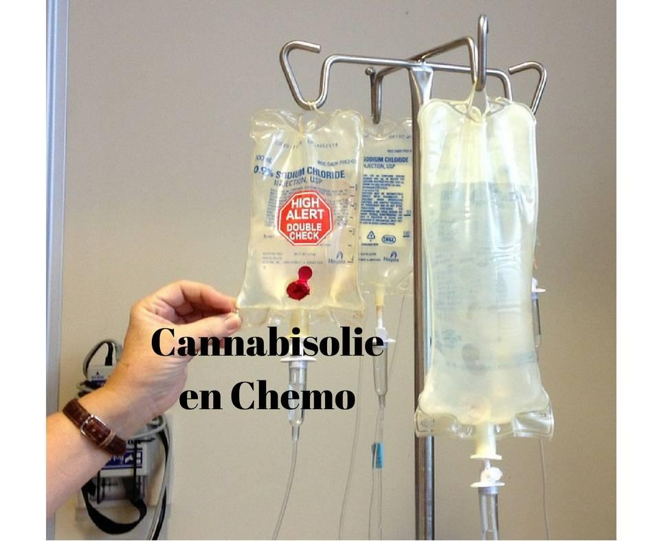 Cannabisolie bij Chemo