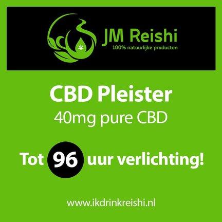 CBD Pleister met constante dosis van 96uur!