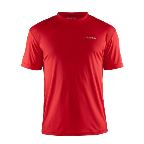 Craft Craft  Prime Tee heren, Bright Red