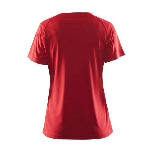 Craft Craft  Prime Tee dames,  Bright Red