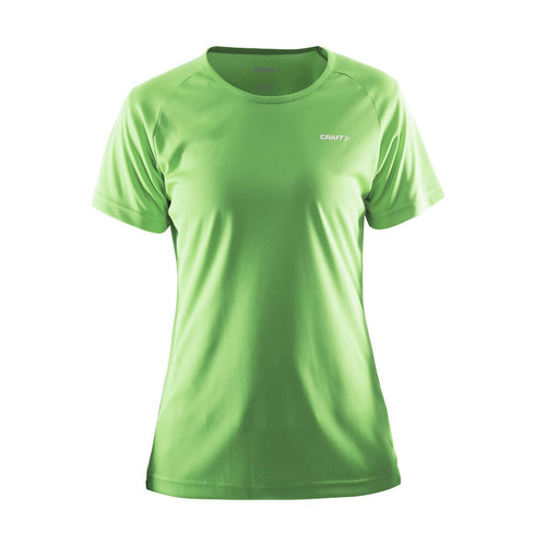 Craft Craft  Prime Tee dames, Green