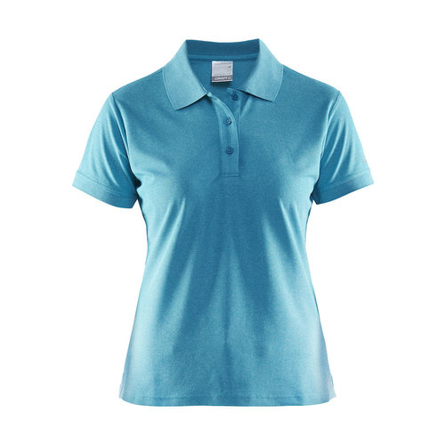 Craft Craft Polo Pique, dames, Gale Melange