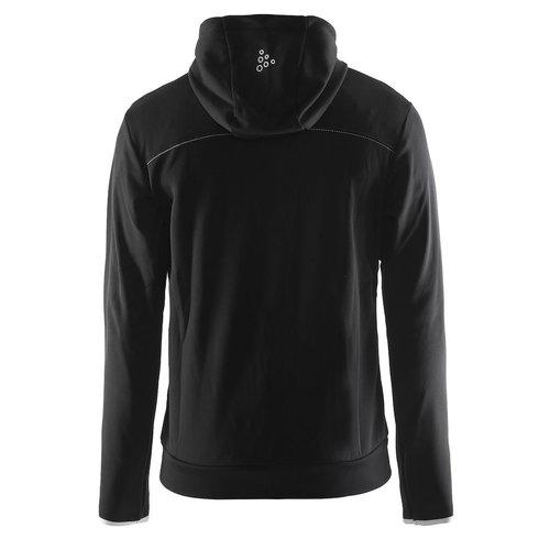 Craft Craft Leisure Hood Full Zip vest, heren, Black