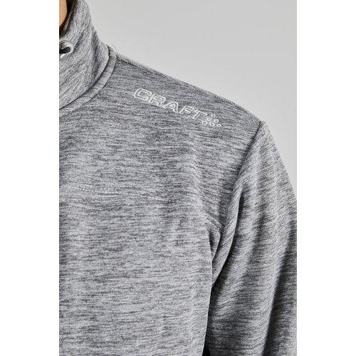 Craft Craft Leisure Jacket full Zip, heren, Dark Grey Melange