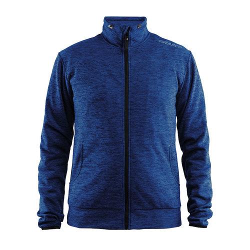 Craft Craft Leisure Jacket full Zip, heren, Deep Melange