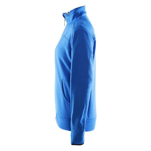 Craft Craft Leisure Jacket Full Zip, dames ,Sweden Blue