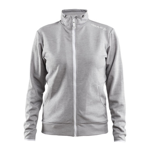 Craft Craft Leisure Jacket Full Zip,  dames, Grey Melange