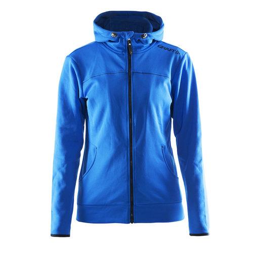 Craft Craft Leisure Hood Full Zip vest, dames, Sweden Blue