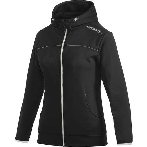 Craft Craft Leisure Hood Full Zip vest, dames,  Black
