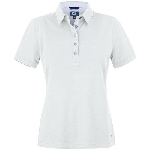 Cutter & Buck Cutter &Buck Advantage Premium Polo, dames, Whit