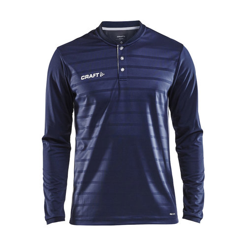 Craft Craft Pro Control Button Jersey long sleeve, heren, Navy