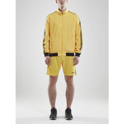 Craft Craft Pro Control Woven Jacket, heren, Yellow