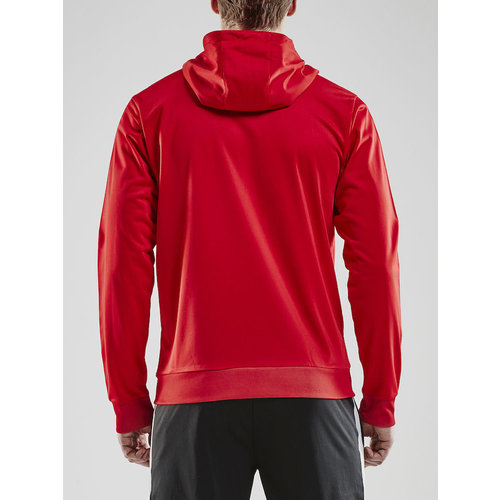 Craft Pro Control  Hood Jacket, heren, red