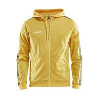 Craft Pro Control  Hood Jacket, heren, yellow