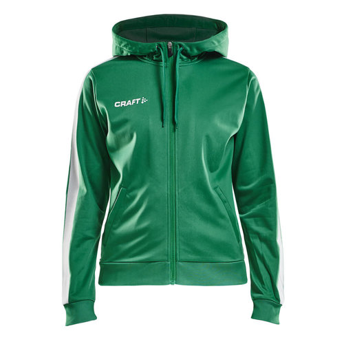 Craft Craft Pro Control  Hood Jacket, dames, Team Green