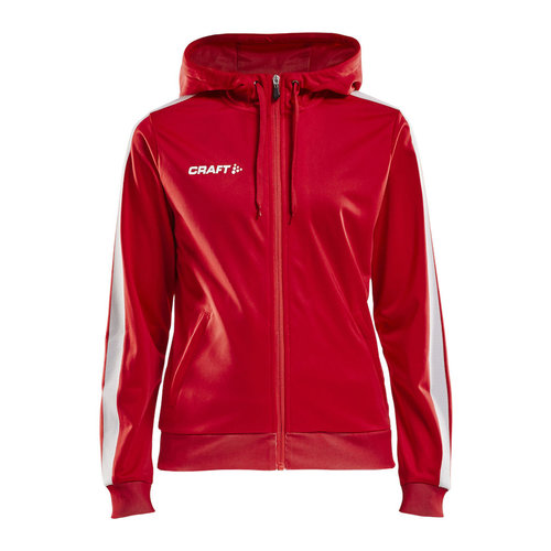 Craft Craft Pro Control  Hood Jacket, dames, Red