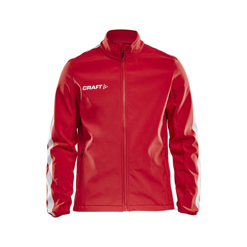 Craft Craft Pro Control  Softshell Jacket, heren, red