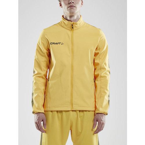 Craft Craft Pro Control  Softshell Jacket, heren, yellow