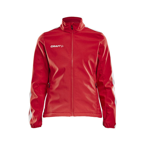 Craft Craft Pro Control  Softshell Jacket, dames, red