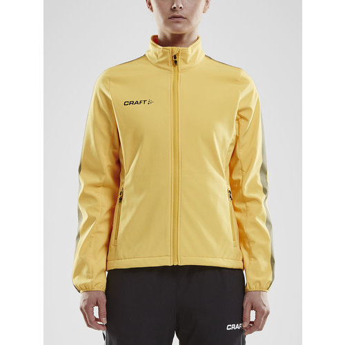 Craft Craft Pro Control  Softshell Jacket, dames, yellow