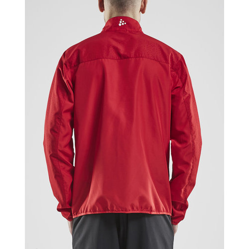 Craft Craft Rush Wind Jacket, heren,  red
