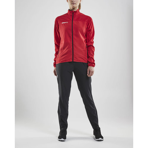 Craft Craft Rush Wind Jacket, dames, red