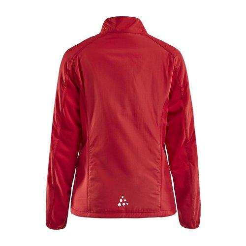 Craft Craft Jacket Warm, dames, Red