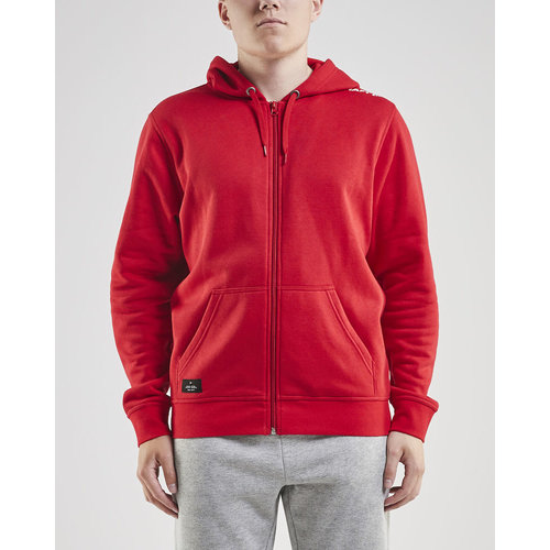Craft Craft Community Full Zip Hoodie, heren, Red