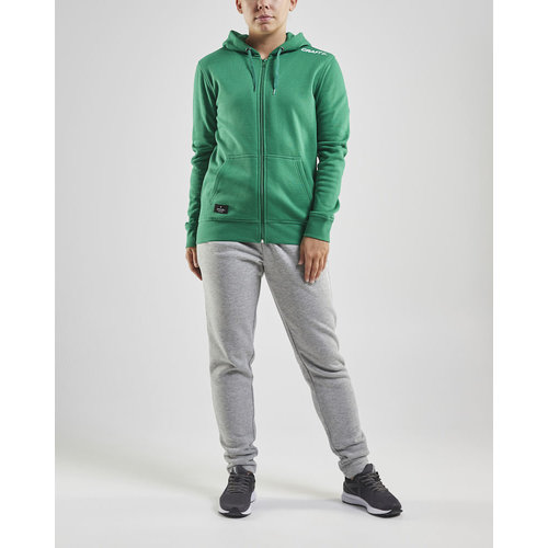 Craft Craft Community Full Zip Hoodie, dames, Green