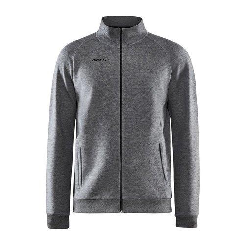 Craft Craft Core Soul Full Zip Jacket, heren, Dark Grey Melange