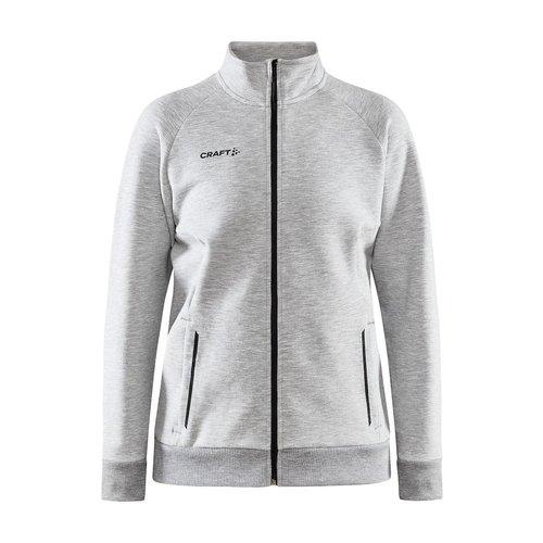 Craft Craft Core Soul Full Zip Jacket, dames, Grey Melange