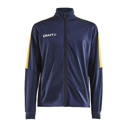 Craft Craft Progress Jacket, heren, Navy/Yellow