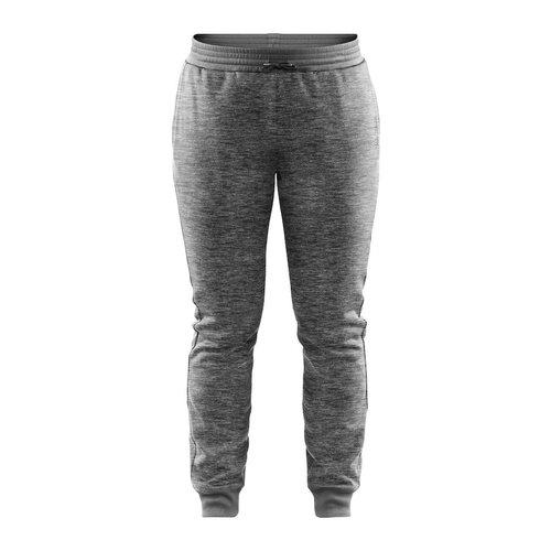 Craft Craft Leisure Sweatpants, dames, Dark Grey Melange